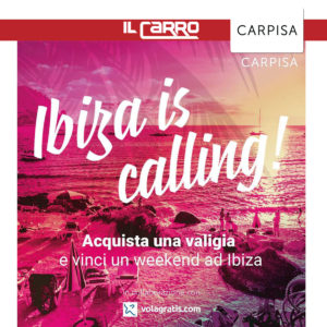 CARPISA: Vinci un weekend ad ibiza
