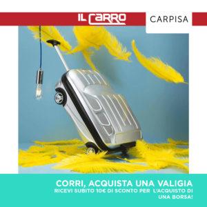 CARPISA: Promozione WEEKEND 16-19 Giugno