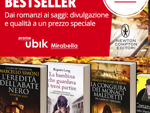 UBIK : Black friday sconti fino al 50%