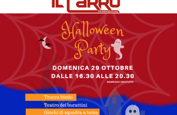 HALLOWEEN PARTY – 29 OTTOBRE
