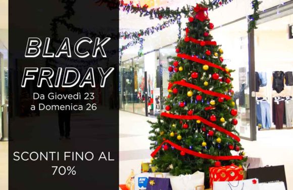 BLACK FRIDAY 23 – 26 NOVEMBRE