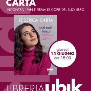Federica Carta alla libreria UBIK